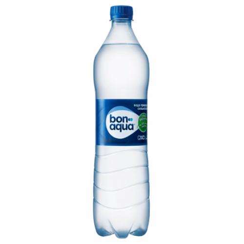 Напій Bonaqua сильногазована 1.0 л